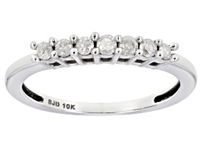 Diamond 10k White Gold Ring .25ctw