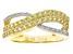 Yellow Sapphire 10k Yellow Gold Ring .77ctw