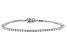 White Lab-Grown Diamond 14K White Gold Bracelet 3.00ctw