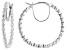 White Lab-Grown Diamond 14K White Gold Earrings 1.50ctw