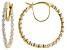 White Lab-Grown Diamond 14K Yellow Gold Earrings 1.50ctw