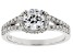 White Lab-Grown Diamond 14K White Gold Ring 1.50ctw