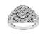 White Lab-Grown Diamond 14K White Gold Ring 2.02ctw