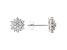White Lab-Grown Diamond 14K White Gold Earrings .50ctw