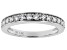 White Lab-Grown Diamond 14K White Gold Ring .54ctw