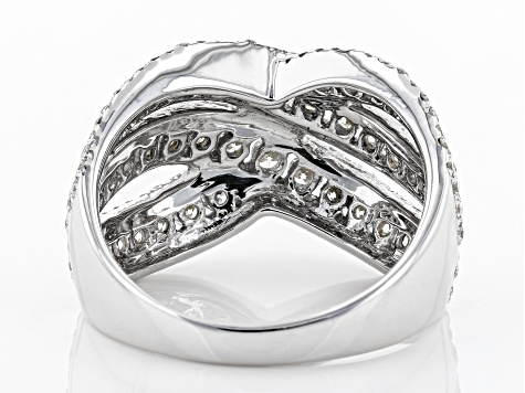 White Lab-Grown Diamond 14K White Gold Ring 2.00ctw