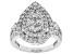 White Lab-Grown Diamond 14K White Gold Ring 1.94ctw