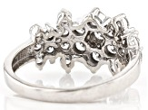 White Lab-Grown Diamond 14K White Gold Ring 1.50ctw