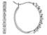 White Lab-Grown Diamond 14K White Gold Earrings 0.50ctw