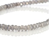 Mercury Mist® Quartz Rhodium Over Sterling Silver  Necklace 130.00ctw