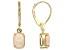Multi Color Ethiopian Opal 14k Yellow Gold Earrings 1.19ctw.