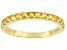 Yellow Citrine 10k Yellow Gold Ring .51ctw