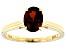 Orange Madeira Citrine 14k Yellow Gold Ring 0.94ct