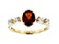 Orange Madeira Citrine 10k Yellow Gold Ring 1.28ctw