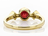Mahaleo ® Ruby 14K Gold Ring .99ctw
