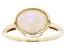 Multi-Color Ethiopian Opal 10k Gold Ring 1.31