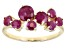 Red Ruby 10k Yellow Gold Ring 1.55ctw