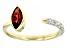Red Garnet 10k Yellow Gold Ring 0.93ctw