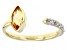 Yellow Citrine 10k Yellow Gold Ring 0.82ctw