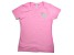 Girlfriend Friday Women's Rhinestone Pink V-Neck T-Shirt