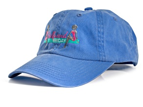 Girlfriend Friday Women's Blue Baseball Hat