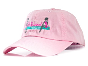 Girlfriend Friday Women's Pink Baseball Hat