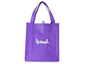 Girlfriend Friday Purple Tote Bag
