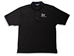 Men's Black Polo