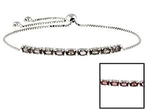Color Shift Garnet Sterling Silver Bracelet 2.26ctw