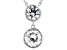 White Zirconia From Swarovski ® Rhodium Over Sterling Silver Necklace 8.89ctw