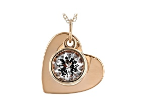 Pink Round Cor De Rosa Morganite 14K Rose Gold. 0.21ct.