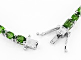 Green Chrome Diopside Sterling Silver 12.50ctw