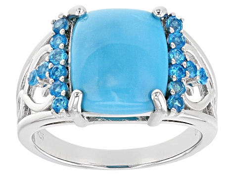 Blue Sleeping Beauty Turquoise Sterling