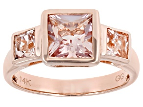 Pink Cor-de-Rosa Morganite™ 14k Rose Gold Ring 2.00ctw