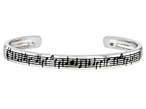 "Sterling Silver ""Danny Boy"" Music Sheet Unisex Bracelet"