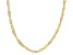 14k yellow gold over sterling silver 18 inch singapore chain.