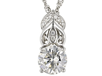Picture of Moissanite Platineve Pendant 1.98ctw DEW.