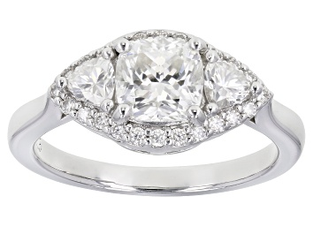 Picture of Moissanite Platineve Ring 1.62ctw Dew