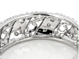 Moissanite Ring Platineve™ .30ctw DEW