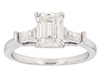 Picture of Moissanite Platineve Ring 1.93ctw D.E.W