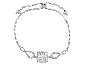 Moissanite Platineve Adjustable Bracelet 1.88ctw DEW