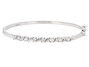 Moissanite Platineve Bracelet .91ctw D.E.W