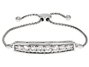 Moissanite Platineve Bolo Bracelet 2.10ctw DEW.