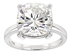 Moissanite Platineve Ring 7.20ctw DEW.