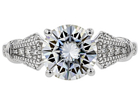 Moissanite Platineve® Ring 2.32ctw DEW