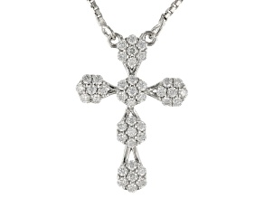 Moissanite Platineve Necklace .42ctw DEW.