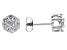 Moissanite Platineve Earrings .84ctw DEW.
