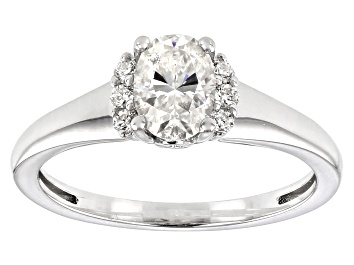 Picture of Moissanite Platineve Ring 1.02ctw DEW.