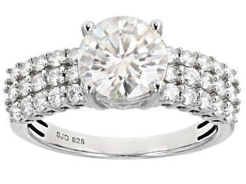 Picture of Moissanite Platineve Ring 2.50ctw DEW