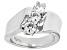 Moissanite Ring Platineve™ 1.00ctw DEW.